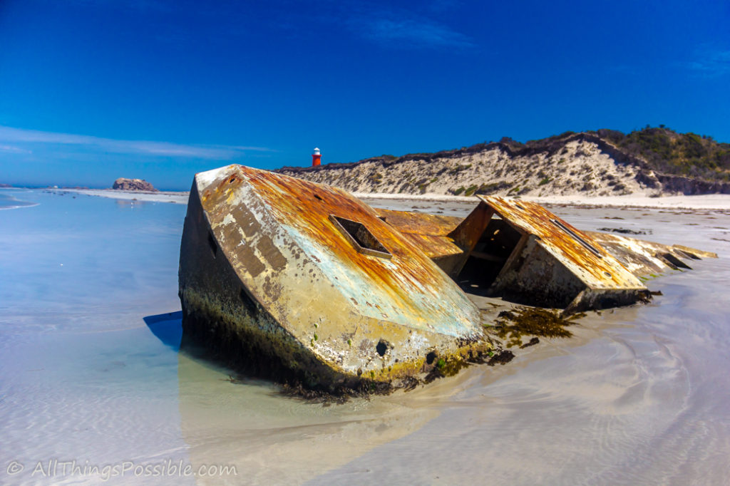 Wreck of the Pisces Star