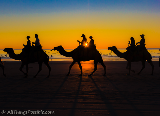 Camel Riding on Cable Beach